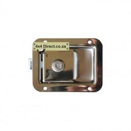 Paddle Handle Lock - Stainless Steel