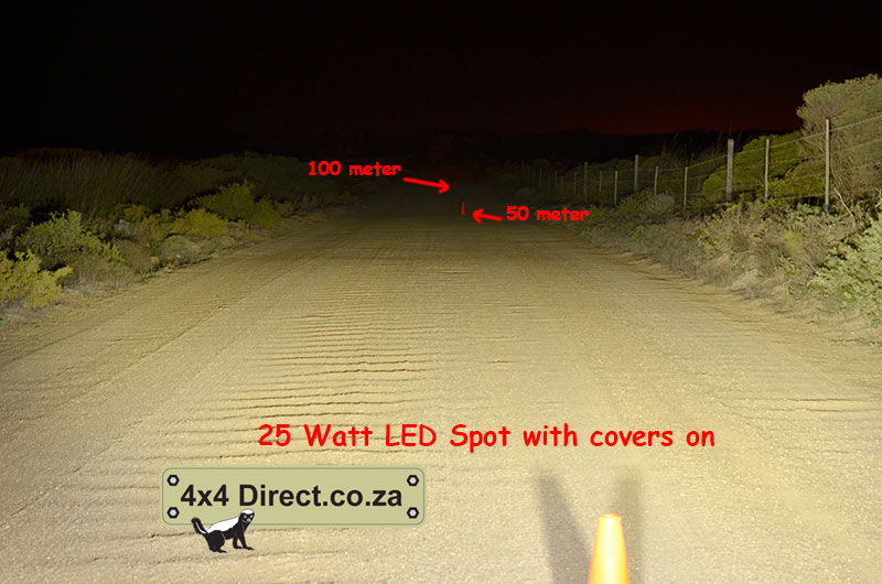 25 watt LED Spotlight with covers
