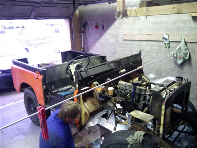 Stripping a Landy