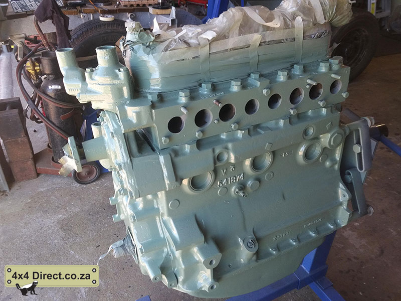 Cleaned and Painted Landy engine