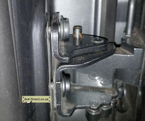 Touareg sagging door fix