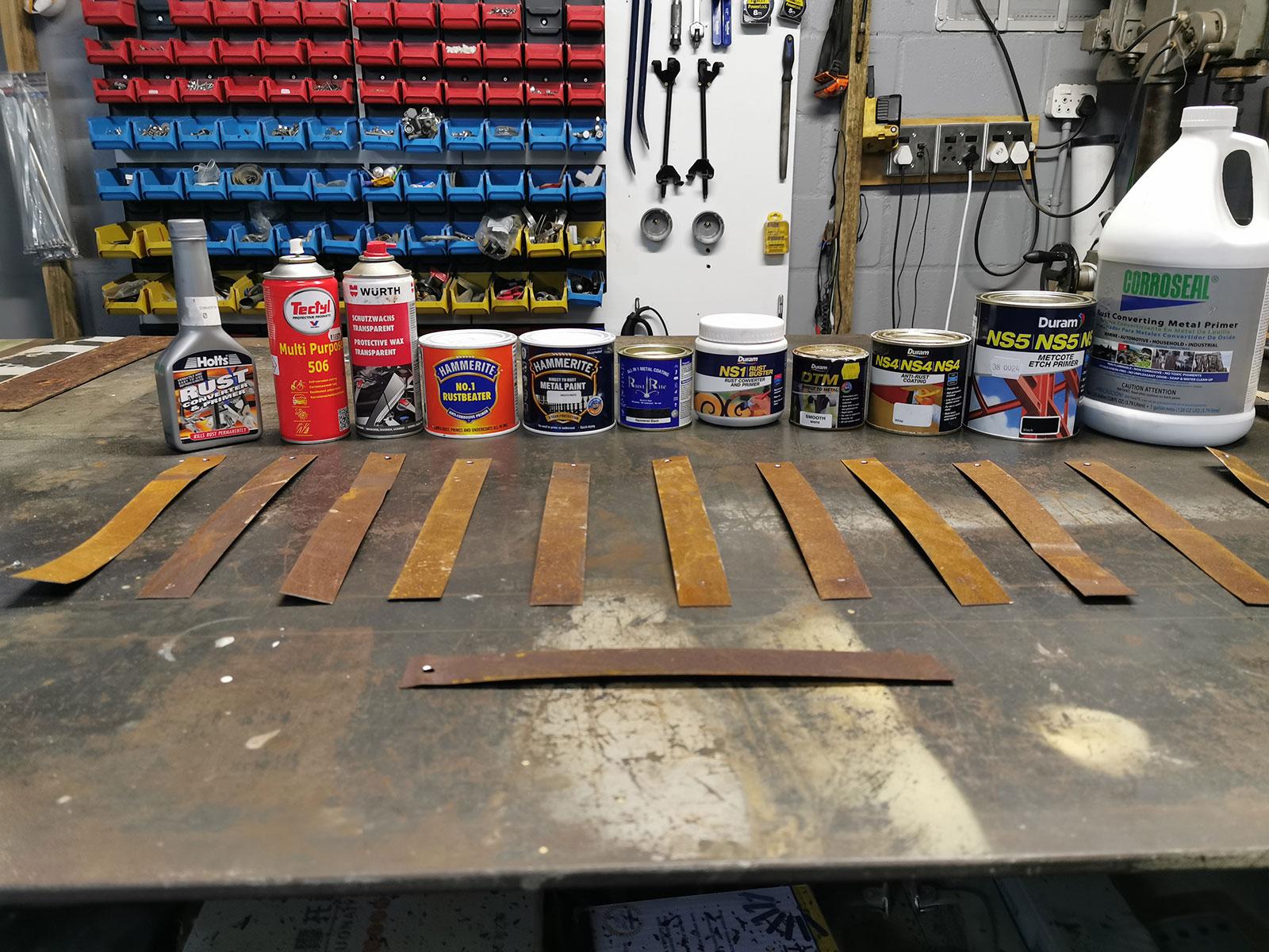 Corrosion Comparison Test
