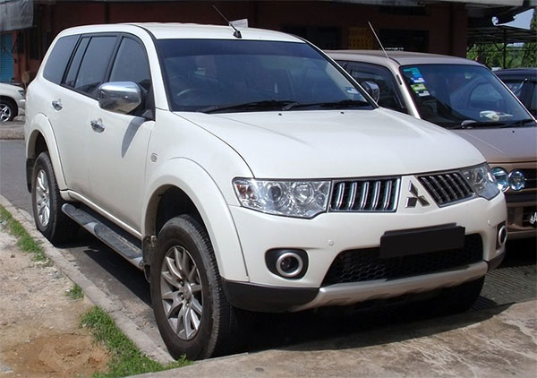 Pajero Sport '09 - present, 2 fronts with airbags