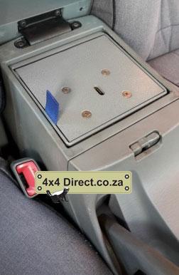 Hilux centre console safe