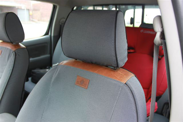 Hilux D/C Caprivi Seat Covers 2008 on - GREY
