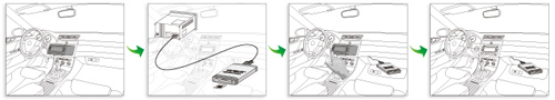 USB music changer for Hilux