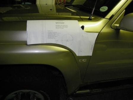Nissan Patrol snorkel installation instructions