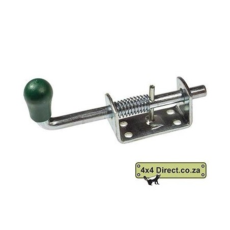 Spring Loaded Bolt Lock - 140mm Bolt - 63mm Bracket