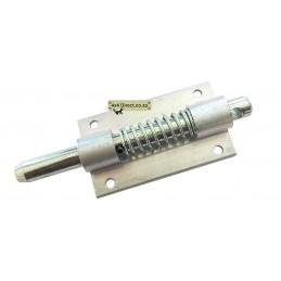 Aluminium Spring Bolt lock 120mm Bolt - 69mm bracket