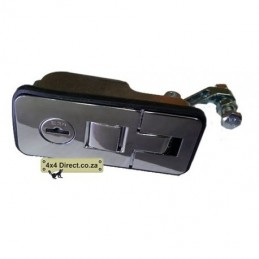 Canopy Locks small - single - Chrome