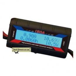 Watt Meter 0-60V DC 0-100A Intermittent 50amp Continuous