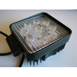 27 Watt LED Worklight Square - 9-32V DC