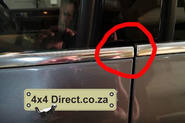 VW Touareg Sagging door