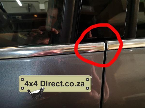 Fixing VW Touareg Sagging Doors